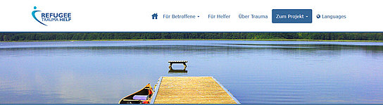 Weiterleitung zur Website www.refugee-trauma.help